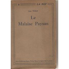 Le-Malaise-Paysan-Le-Malaise-Paysan-Livre-ancien-863424124_ML